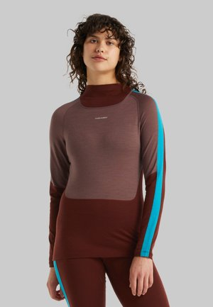 Long sleeved top - mink/espresso/arctic t/cb