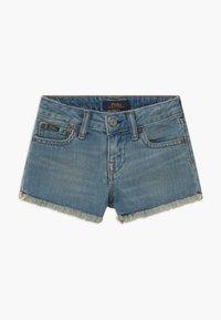 Polo Ralph Lauren - BOTTOMS - Denim shorts - dark-blue denim - 0