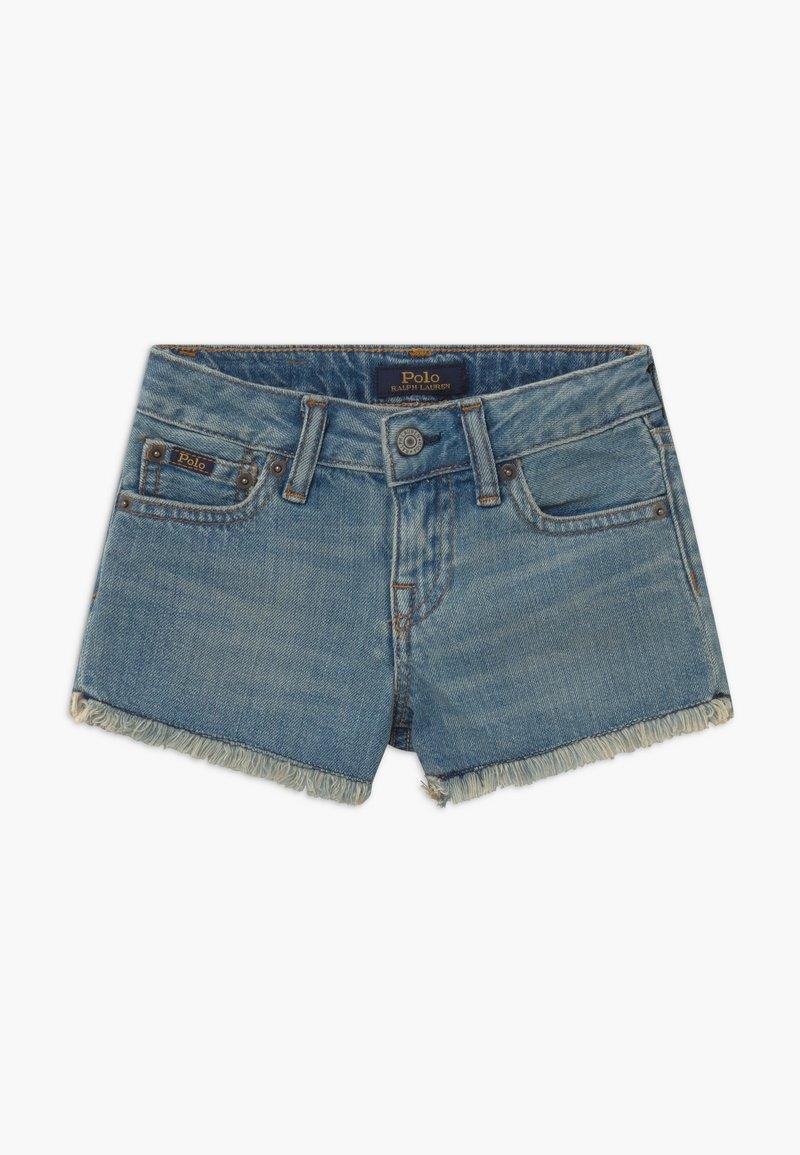 Polo Ralph Lauren - BOTTOMS - Denim shorts - dark-blue denim