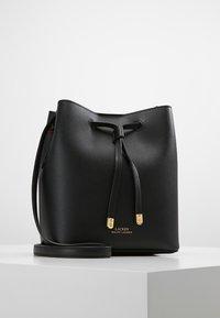 Lauren Ralph Lauren - SUPER SMOOTH DEBBY - Across body bag - black/crimson - 0