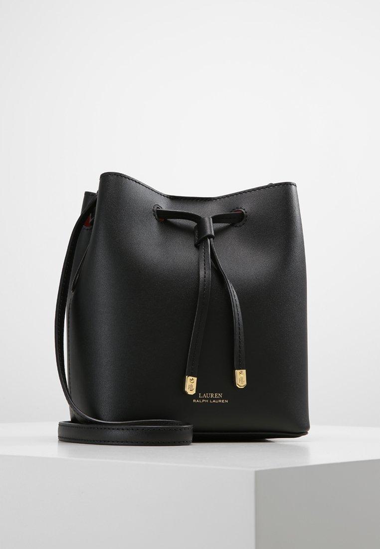 Lauren Ralph Lauren - SUPER SMOOTH DEBBY - Across body bag - black/crimson