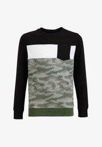 WE Fashion - MET DESSIN - Top sdlouhým rukávem - green - 3