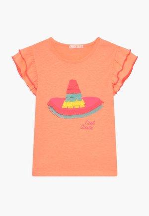 T-shirt imprimé - peach