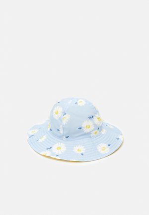 S21 IG FLORAL REV SH - Klobouk - light blue/yellow