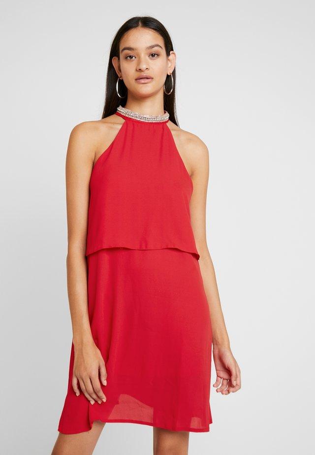 ONLGLORIA SHORT DRESS - Cocktailkleid/festliches Kleid - chinese red