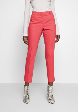 TROUSER - Trousers - soft raspberry multicolor