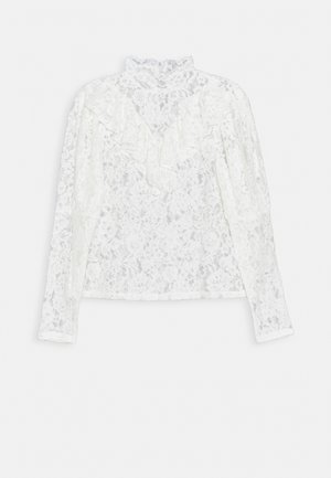DUKE - Long sleeved top - white
