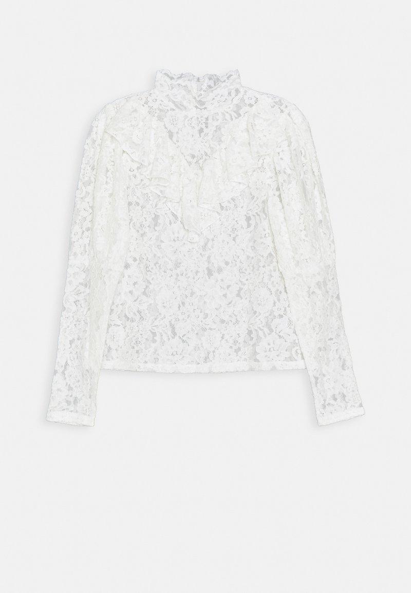 Fashion Union - DUKE - Top sdlouhým rukávem - white