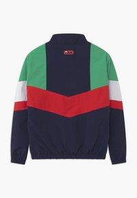 Fila - CHRIS WIND - Training jacket - black iris/true red/ginko green/bright white - 1