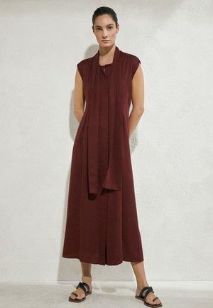 Maxi dress - bordeaux
