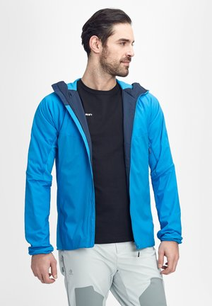 RIME LIGHT IN FLEX - Waterproof jacket - gentian