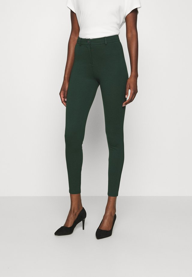 BUTTON TREGGING - Legging - green