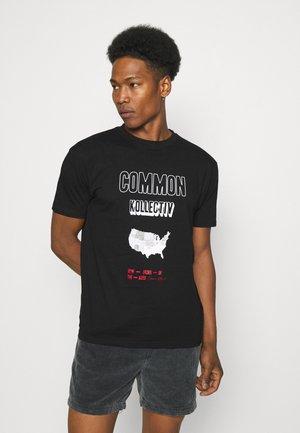 NEW ORDER UNISEX - T-shirts med print - black