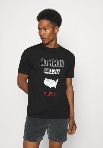 NEW ORDER UNISEX - T-shirt imprimé - black