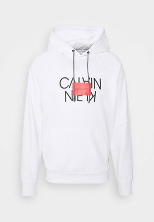 TEXT REVERSED HOODIE - Sweatshirt - white