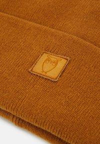 Knowledge Cotton Apparel - LEAF BEANIE UNISEX - Čepice - buckhorn brown - 2