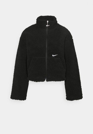 Winter jacket - black/white