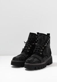 Alma en Pena - Platform ankle boots - black - 4