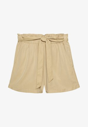 Shorts - dark beige