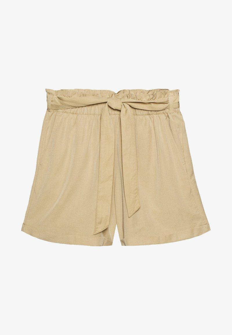 TOM TAILOR DENIM - Shorts - dark beige