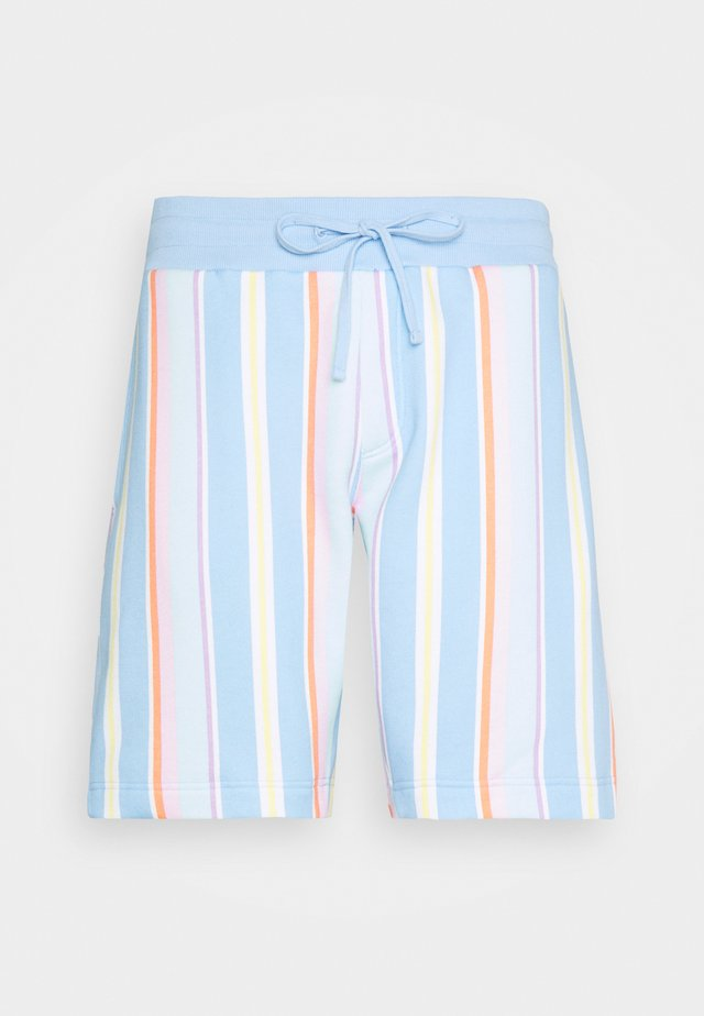 PLUS STRIPE - Shorts - light powdery blue
