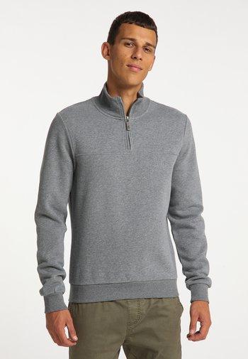Sweatshirt - grau melange