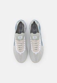 Umbro - VELOCITA VI PRO FG - Moulded stud football boots - white/goblin blue/sargasso sea - 3