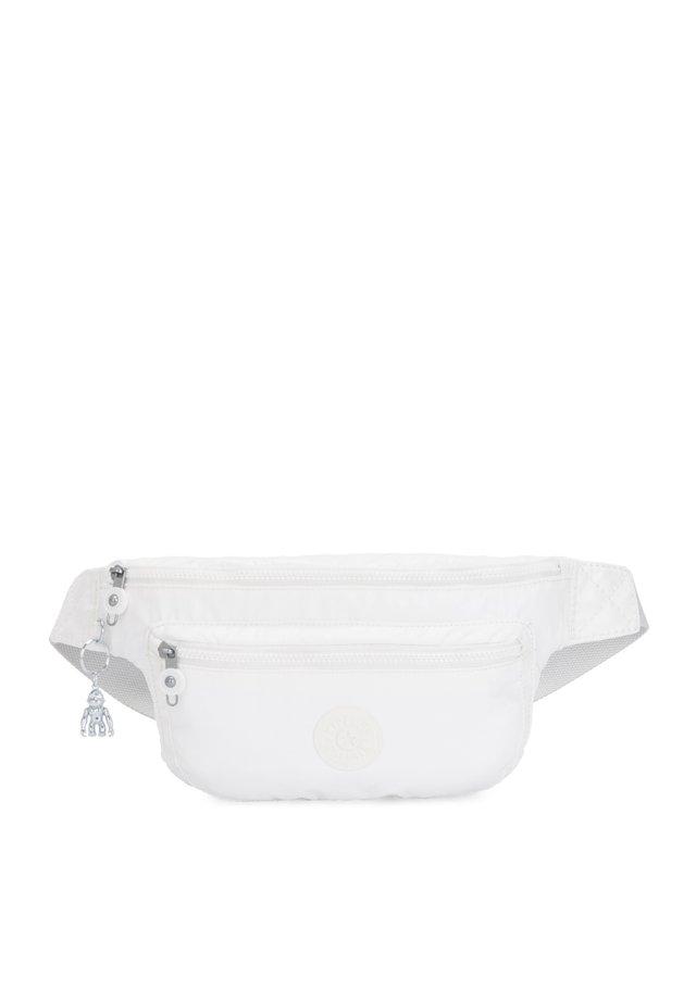 YASEMINA XL - Bum bag - white metal o