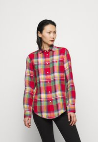 Polo Ralph Lauren - PLAID - Button-down blouse - red/pink - 0
