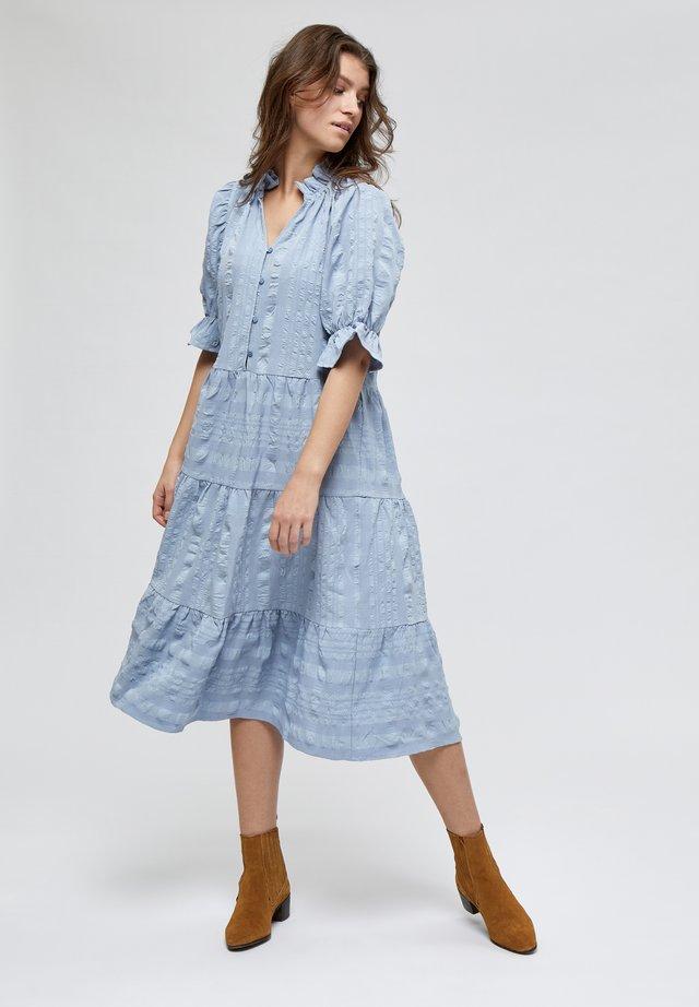 BERGITTA  - Skjortklänning - dark powder blue