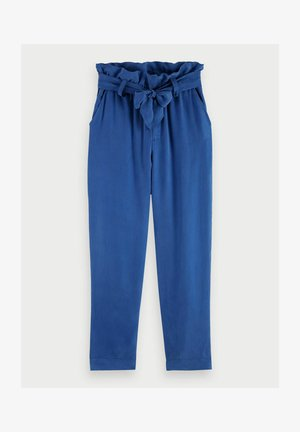Trousers - ocean blue