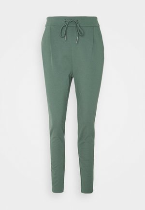 VMEVA LOOSE STRING PANTS  - Trousers - balsam green
