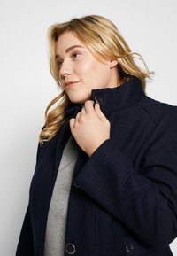 Evans - FUNNEL NECK COAT - Kåpe / frakk - navy - 3