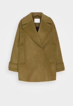 EGG SHAPED COAT - Classic coat - beech