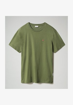 SALIS - T-shirt - bas - green cypress