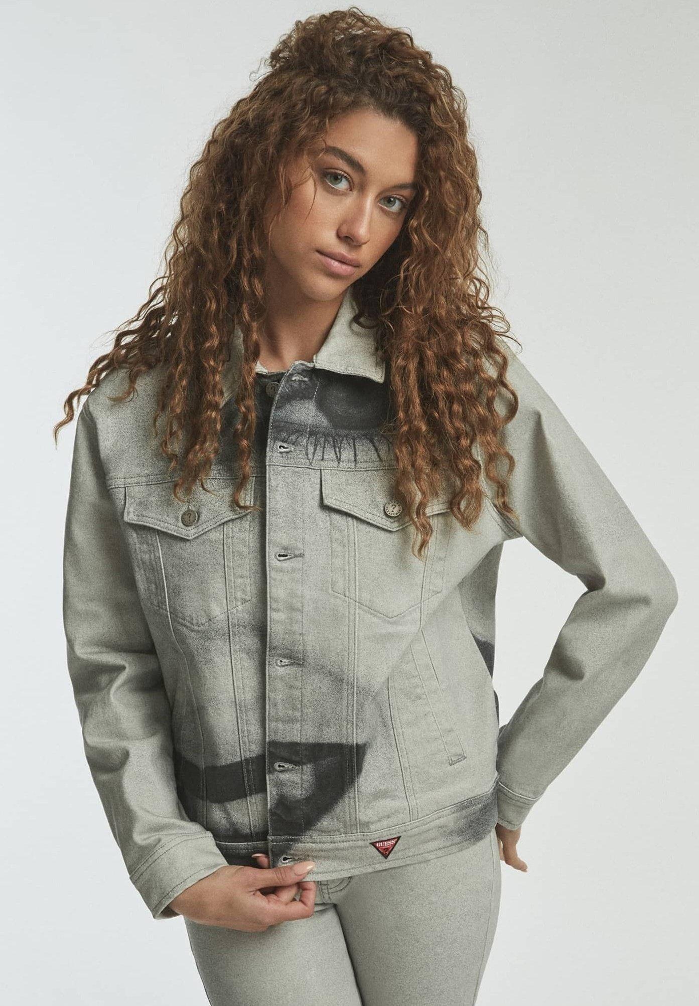 Donna MAXIPRINT - Giacca di jeans