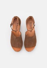 Felmini - MESHA - High heeled sandals - brown - 5