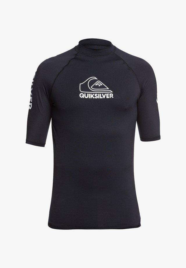 QUIKSILVER™ ON TOUR - KURZÄRMLIGER RASHGUARD MIT UPF 50 FÜR MÄNN - Surfshirt - black