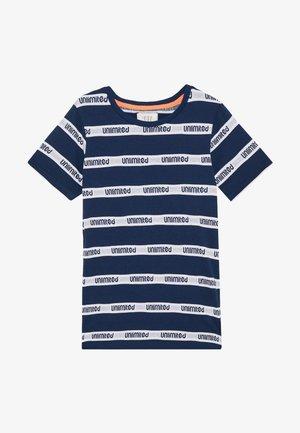 TEENAGER - T-shirt print - tinte/neon fire