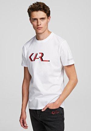 LEGEND - Print T-shirt - white