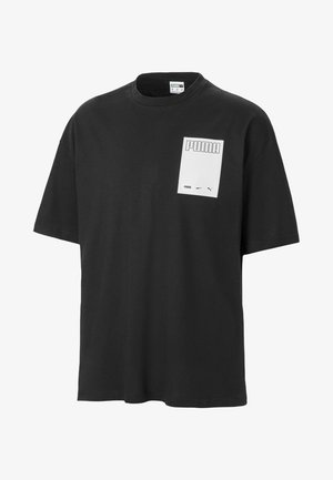 EVOLUTION GRAPHIC MEN'S TEE MALE - Print T-shirt - black