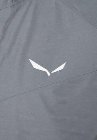 Salewa - PUEZ - Waterproof jacket - flint stone - 2