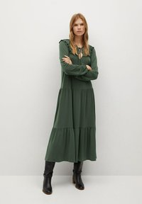 Mango - RIO - Denní šaty - khaki - 0