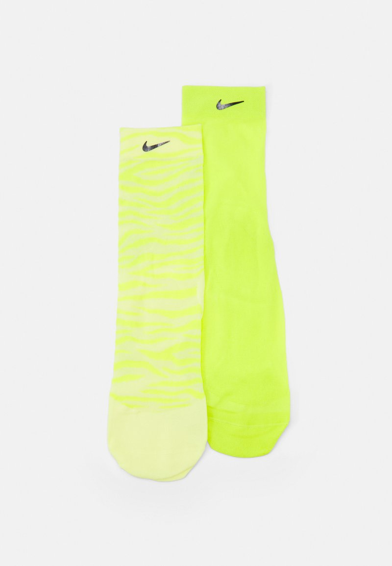 Nike Performance - SHEER ANKLE NOVELTY 2 PACK - Calcetines de deporte - light zitron