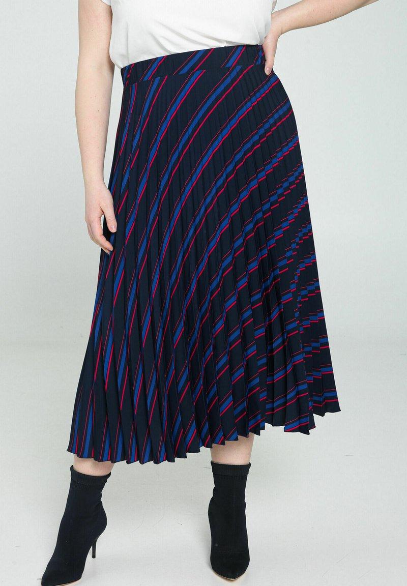 Promiss - A-line skirt - marine