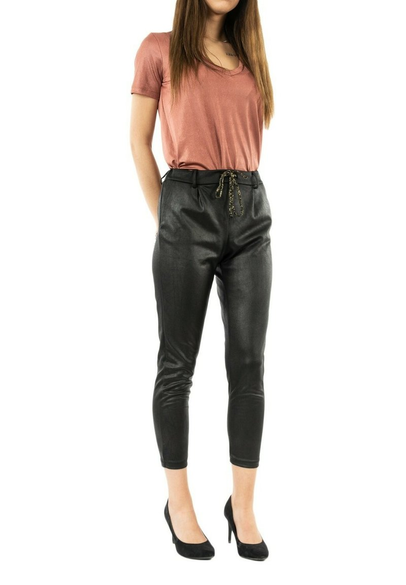PLEASE - Trousers - noir