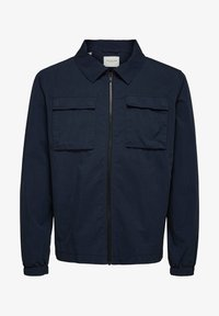 Selected Homme - SLHNILES - Tunn jacka - mottled dark blue - 5