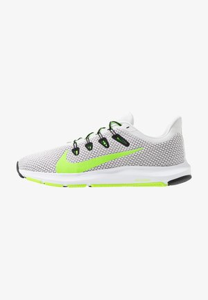 QUEST 2 - Neutral running shoes - platinum tint/electric green/black/white