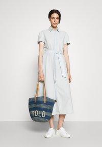 Polo Ralph Lauren - STRIPES - Tote bag - blue/multi - 0