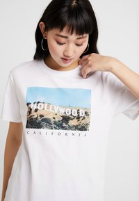 TWINTIP - T-shirt print - white - 4